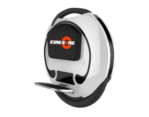 """King Song 16"""" Oblique, Pedals Down"""