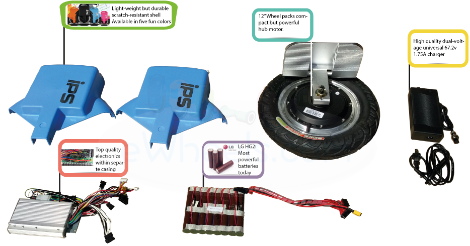 IPS a130 motor, battery & other components