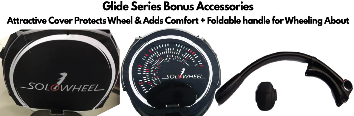 Solowheel Glide 2 Bonus Accessories Protective Cover & Handle Kit