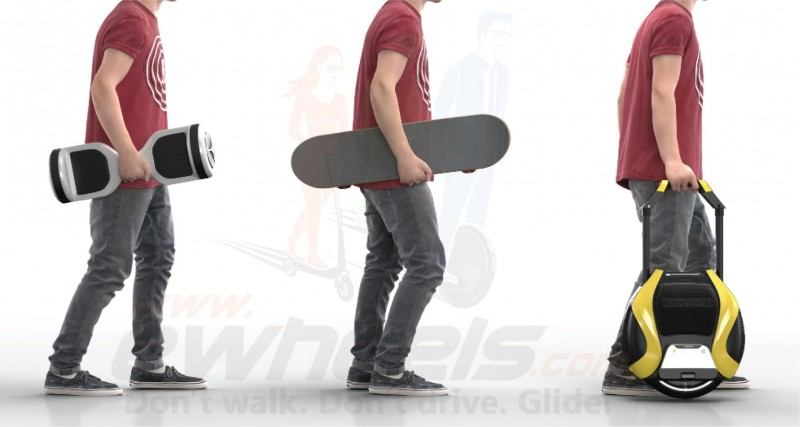 Electric Skateboard, Hoverboard, Segway vs the Electric Unicycle eWheel?