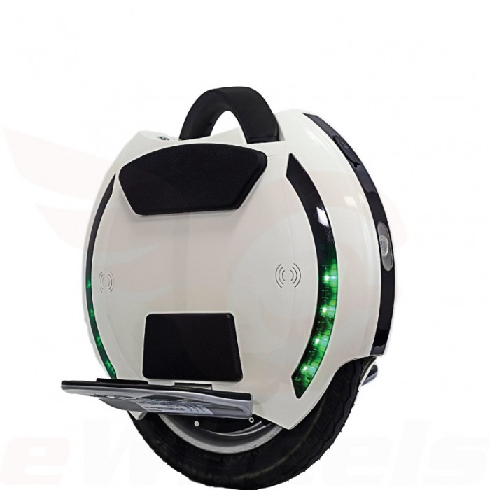 King Song 14D, White- Oblique Electric Unicycle