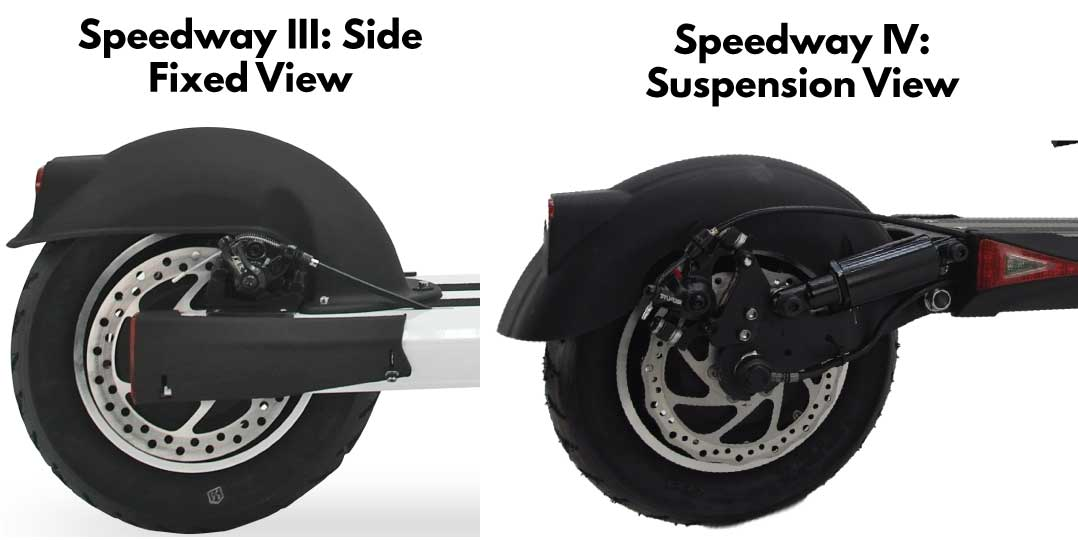 Speedway 3 vs Speedway 4 Differences: Side Views