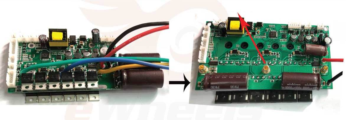 Gotway MSX Improvements, Spring Connectors