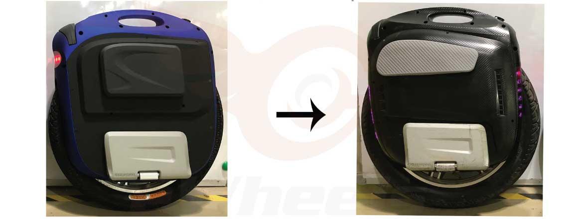 Gotway MSX Improvements, Higher Pedals