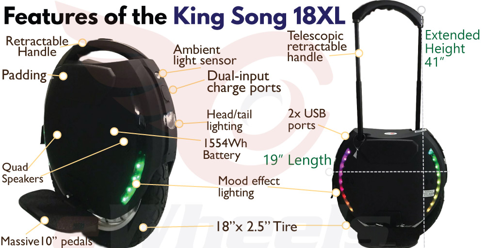 Key Features of the King Song 18XL