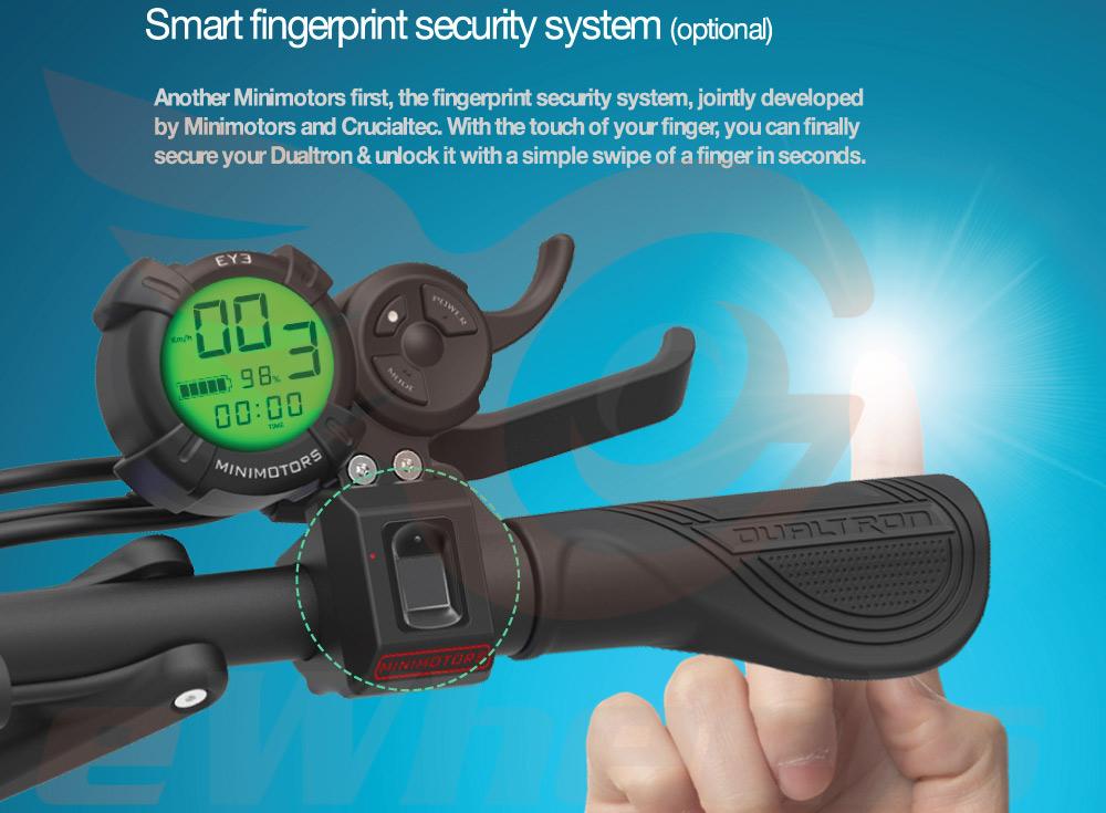 Dualtron Fingerprint Scanner Option