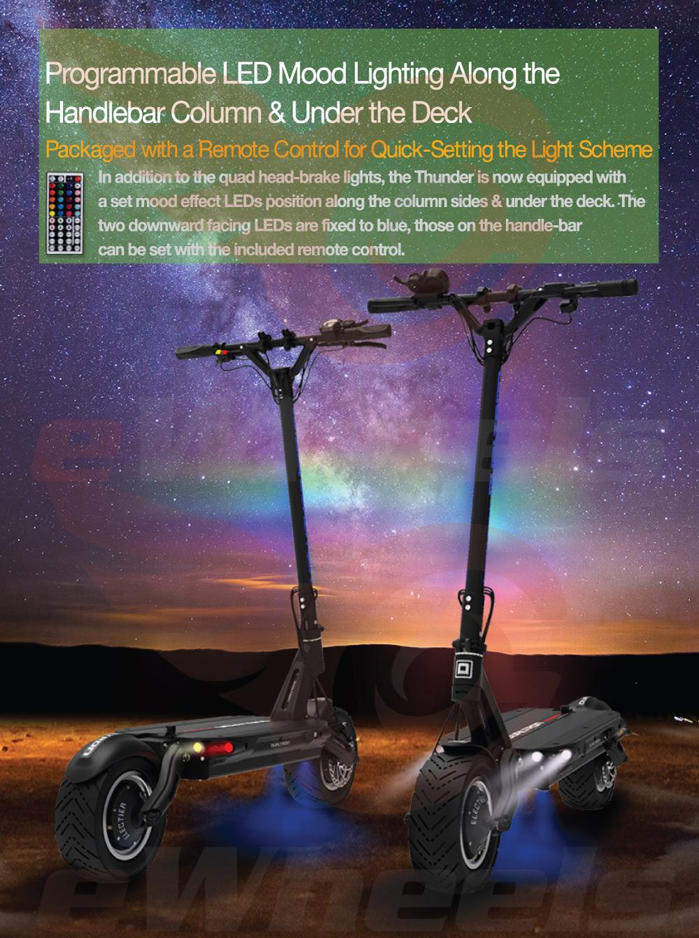 Dualtron Thunder LED Lightshow