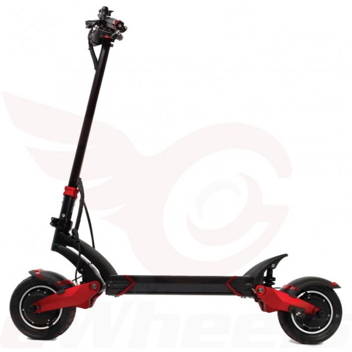 Turbowheel Lightning 2x Motor 10 Escooter 1260wh 2x1200w 40 Mph