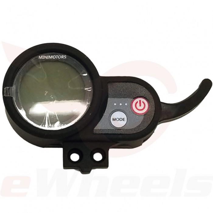 Speedway Mini4 Dashboard, 1