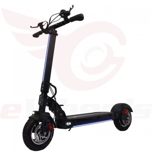 Turbowheel Pacer T10 Scooter. Left Oblique