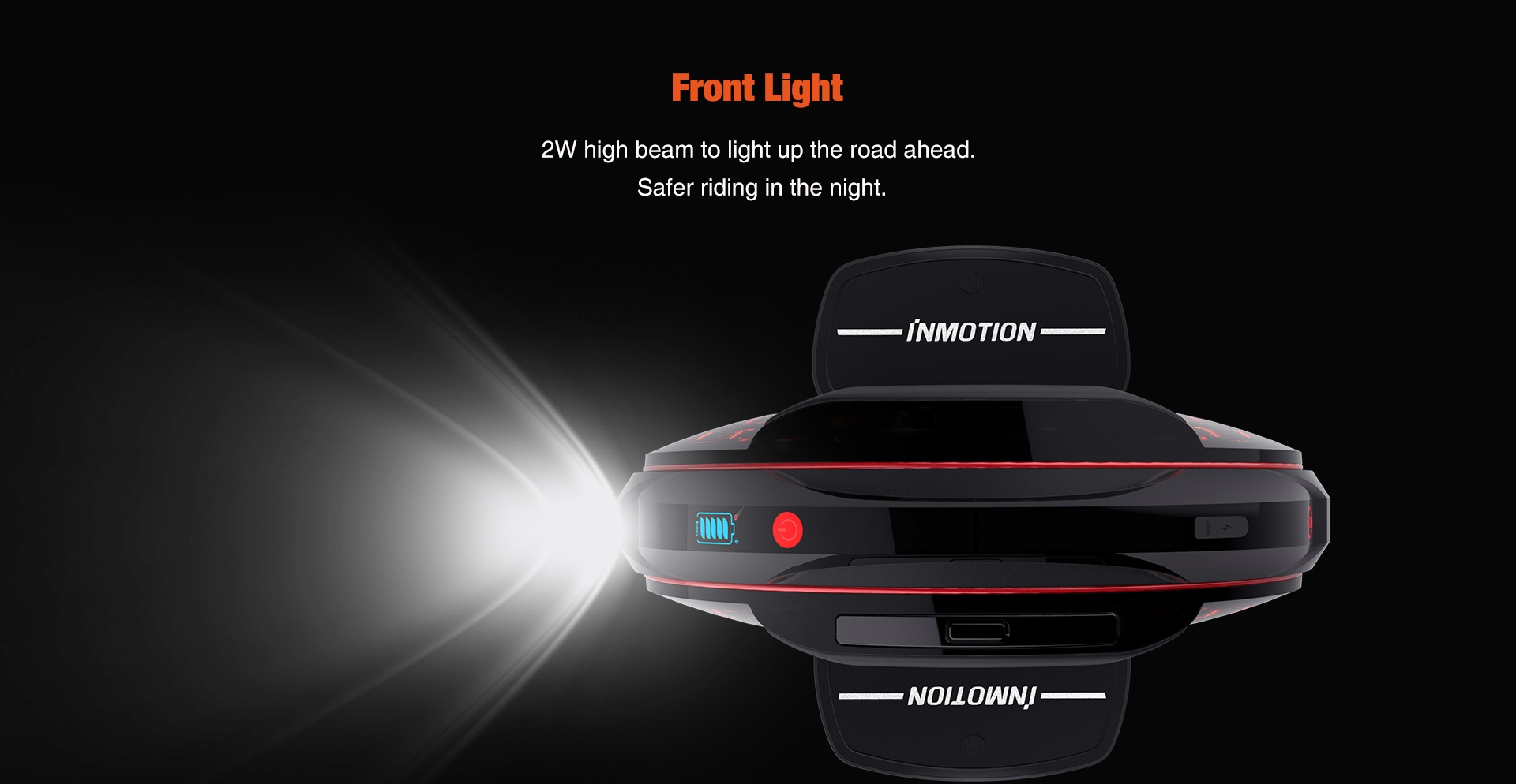 Inmotion V8F Brochure, Headlight