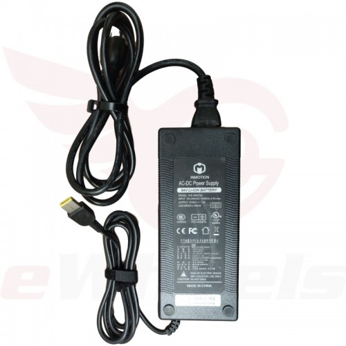 Inmotion 84.2V/1.5A Charger, Lenovo Connector, Label
