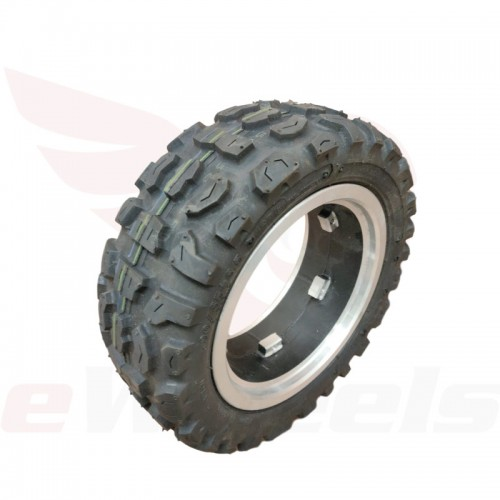 "Electric Scooter 11x4"" Off-road Tire + Rim"