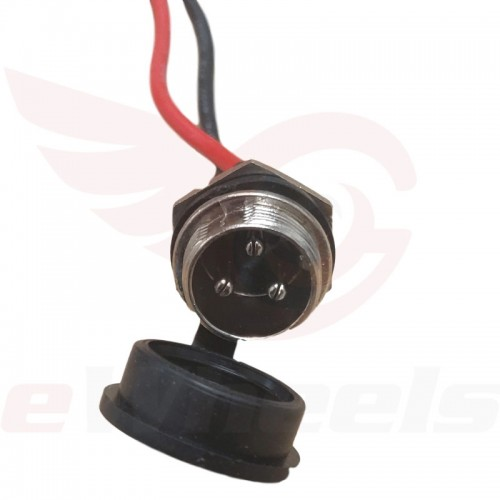 Turbowheel Charge Port, 3-pin Connector