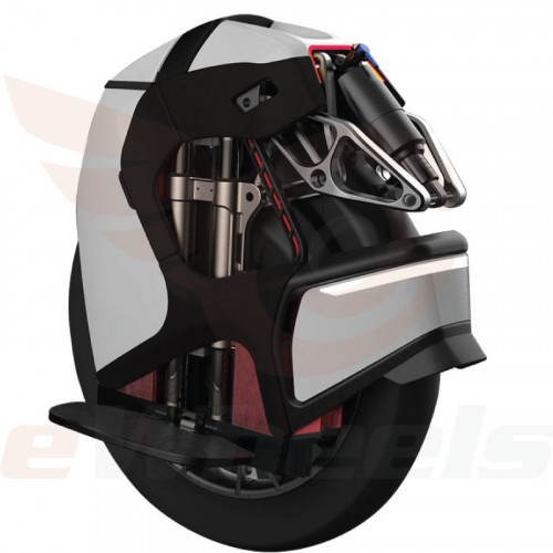 King Song S18 Suspension Electric Unicycle. Rear Oblique Right