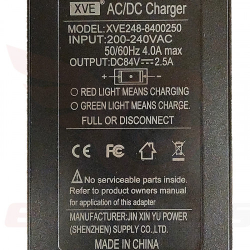 King Song 18XL 16X 2.5A Solid Charger, Lenovo Label