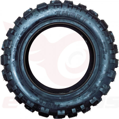 "11x4"" Tuovt Tire (Phaeton Semi) TD-8028 (90/65-6.5), Side"