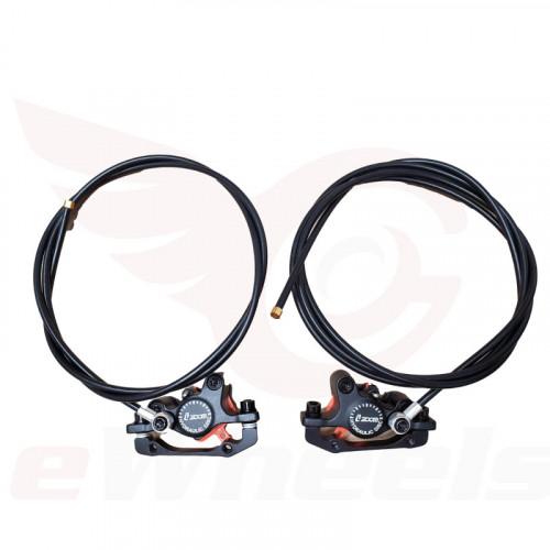 Complete Zoom Hydraulic Brake Set, Calipers