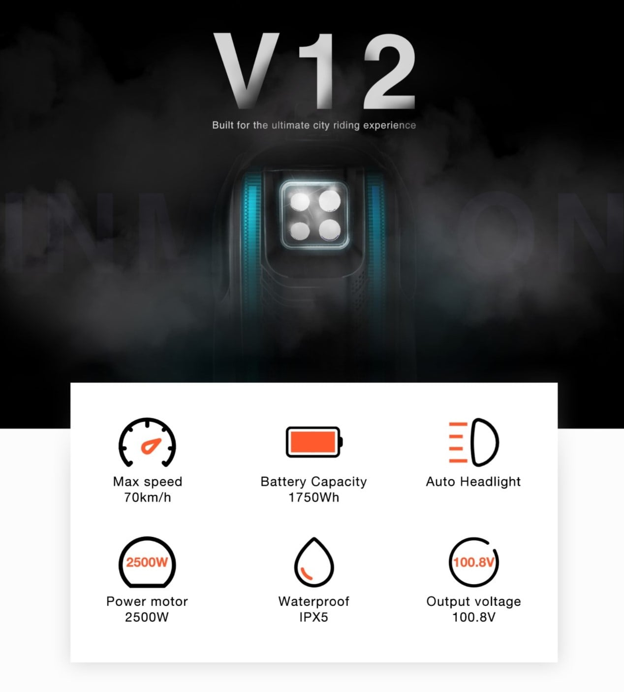 Inmotion V12 New Product Features, Page 1